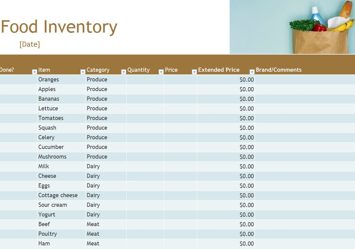 Free Stock Inventory Software Excel 1