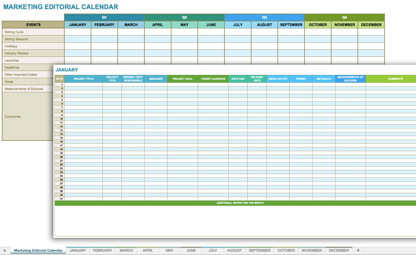Monthly Spreadsheet Template Monthly Spreadsheet