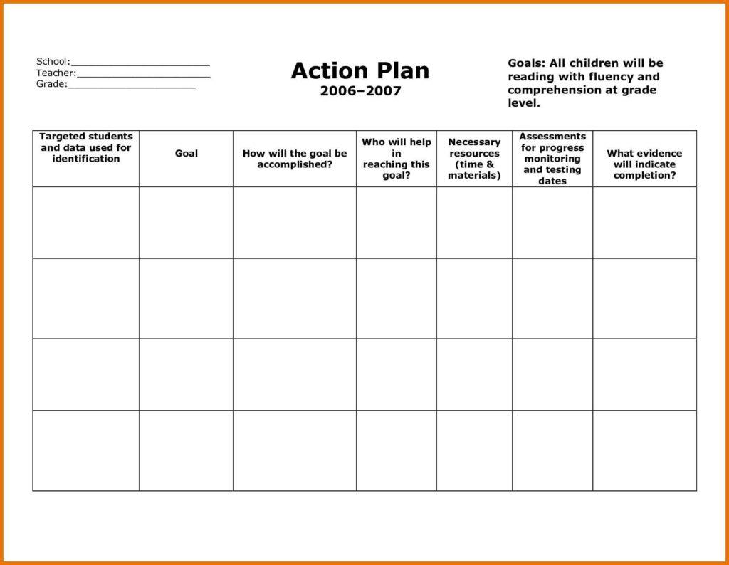 Business Plan Spreadsheet Template