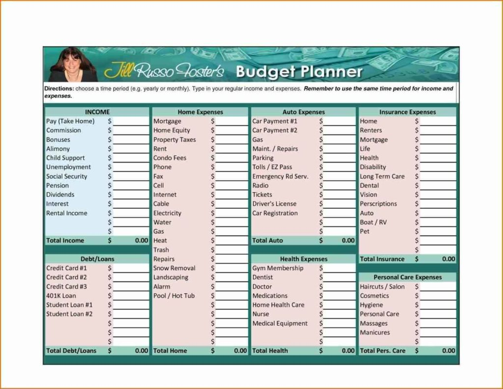 Family Budget Spreadsheet Budget Spreadsheet Spreadsheet Templates For Busines Family Budget