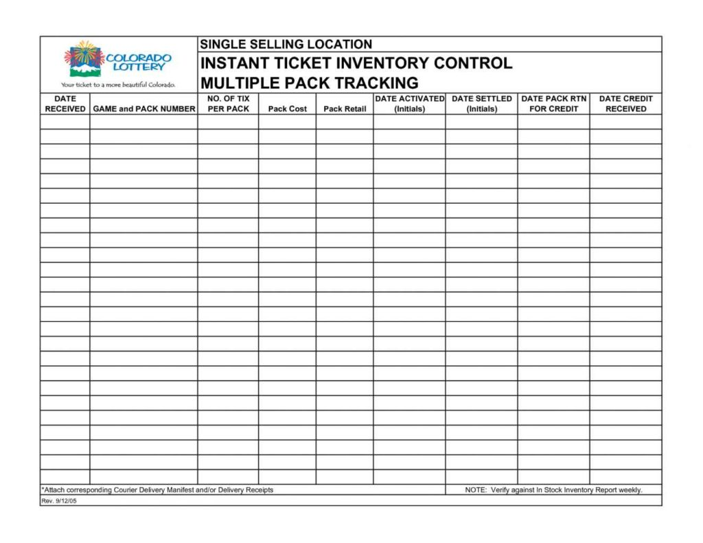 Inventory Tracking Spreadsheet Template Free1 Inventory