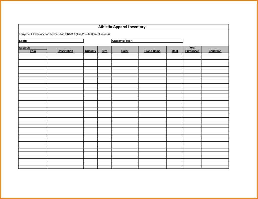 Sample Bar Inventory Spreadsheet Inventory Spreadsheet