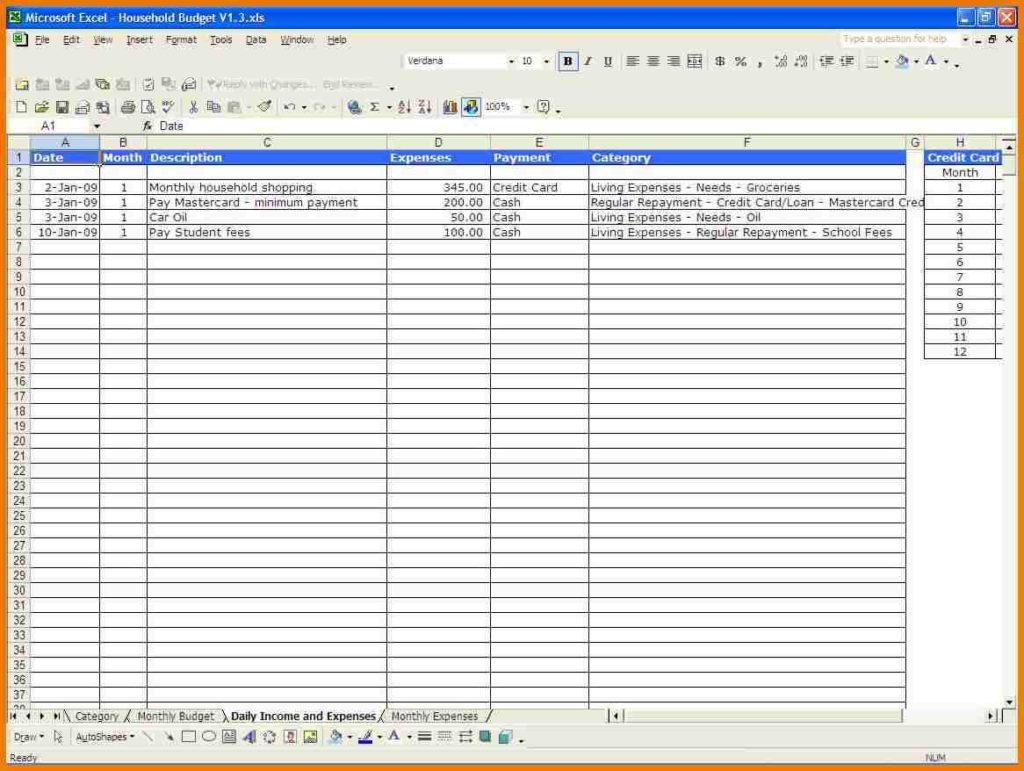 Monthly Budget Planner Template Free1 Monthly Expense