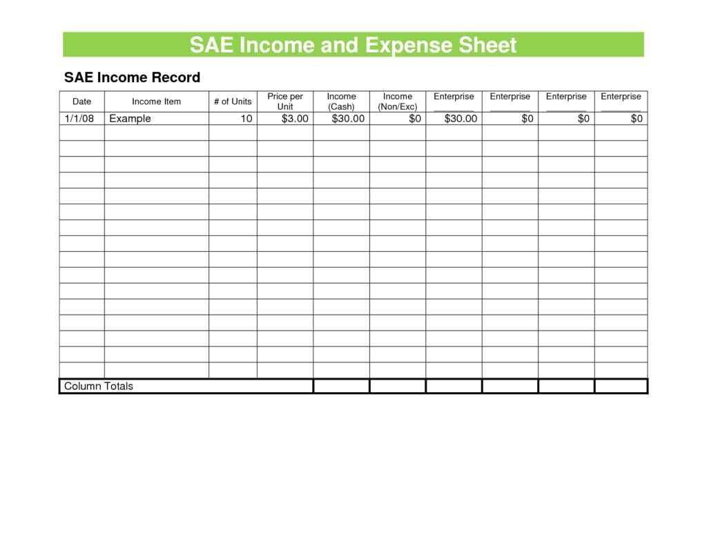 Sample Expense Spreadsheet Spreadsheet Templates For