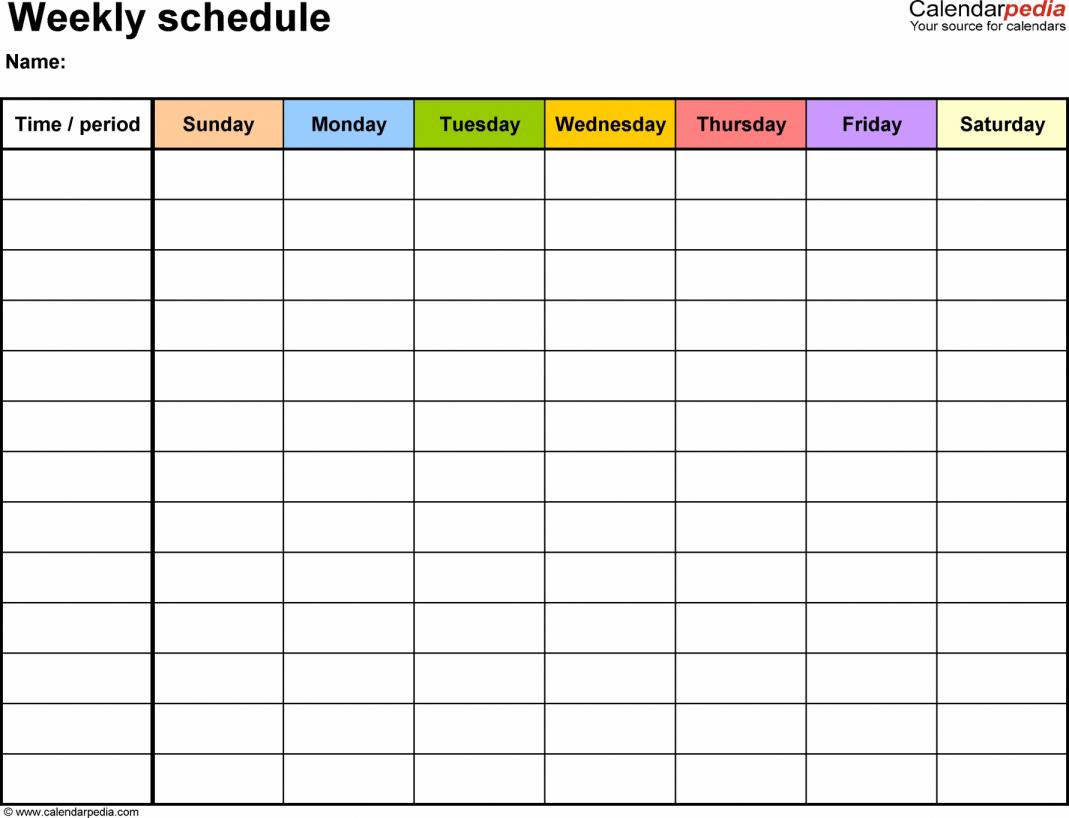 15 Premium Scheduling Spreadsheet Premium Worksheet