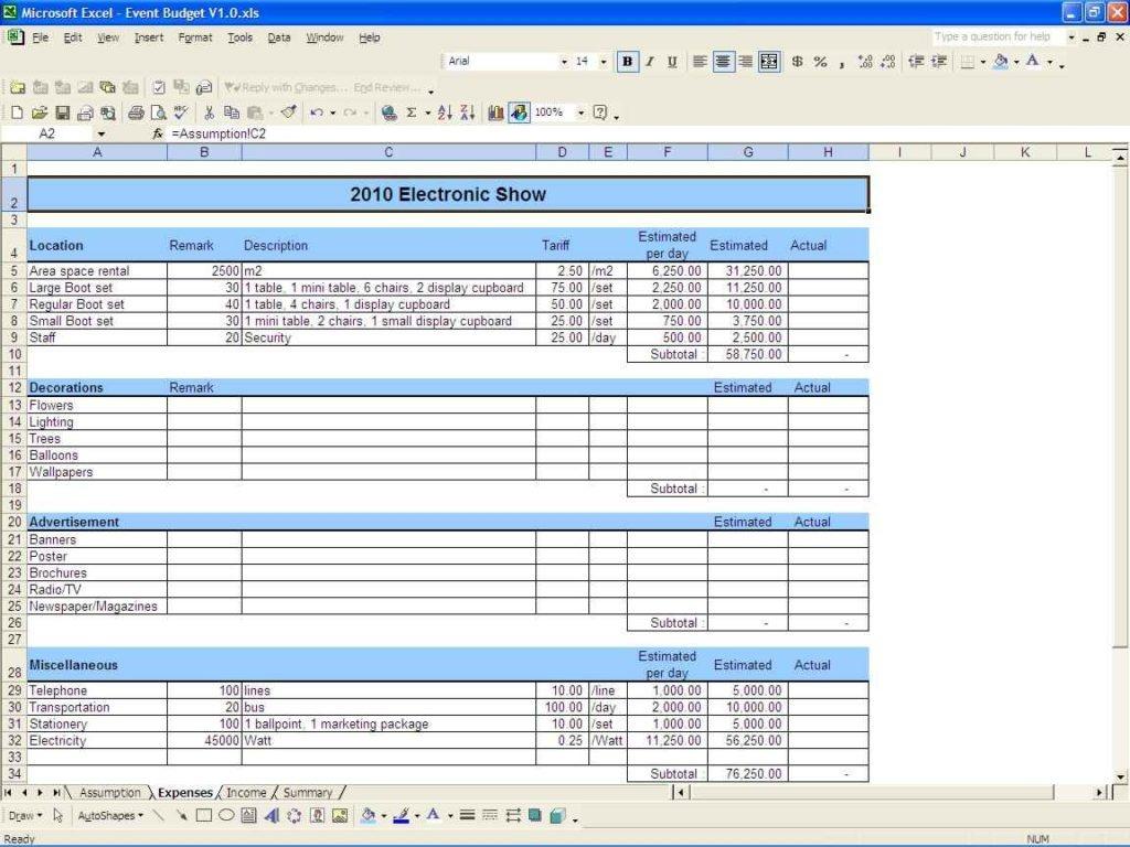 Budget Worksheet Excel Sample Bud Spreadsheet Excel