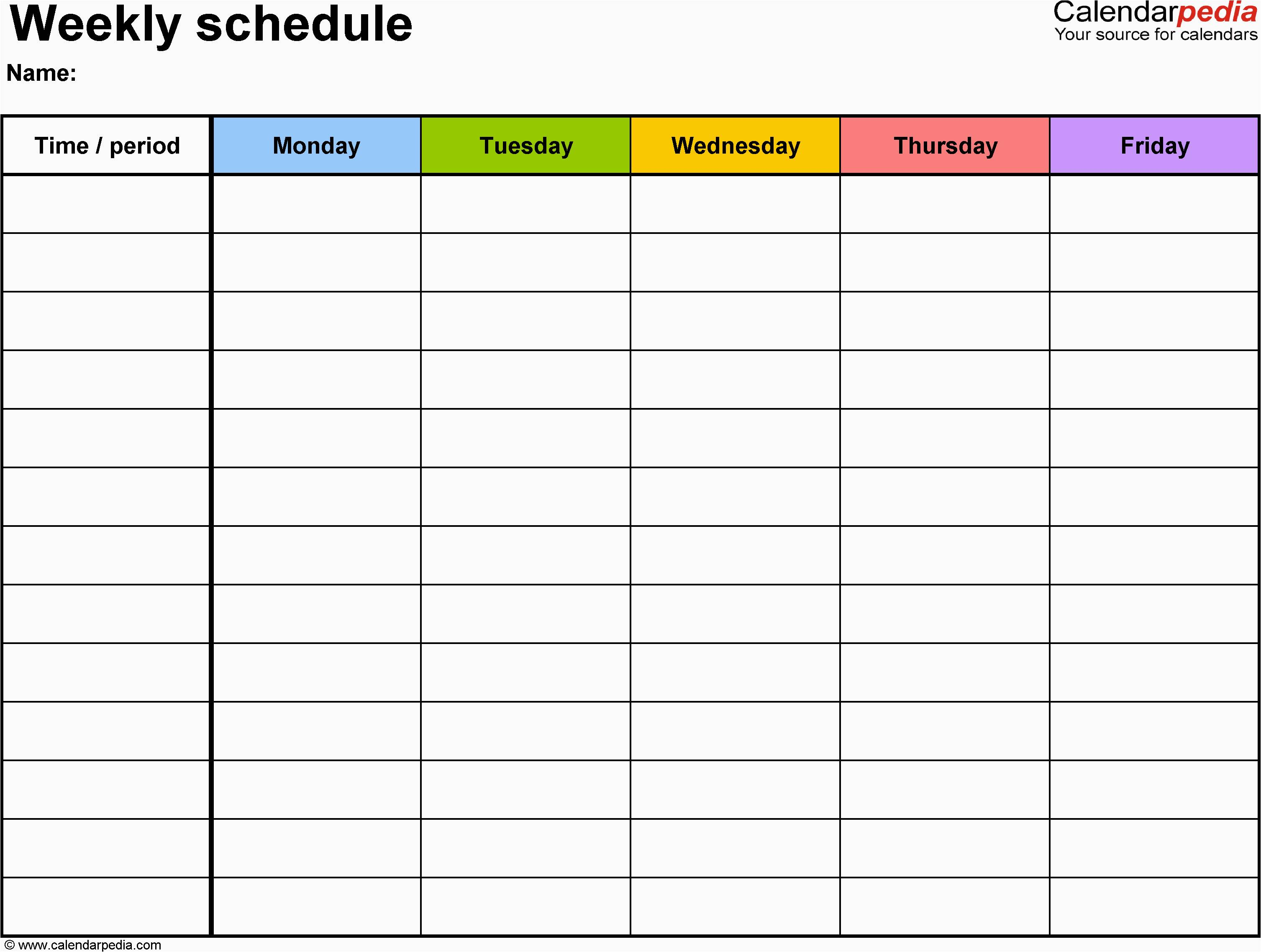 Excel Project Management Template For Mac Free Weekly
