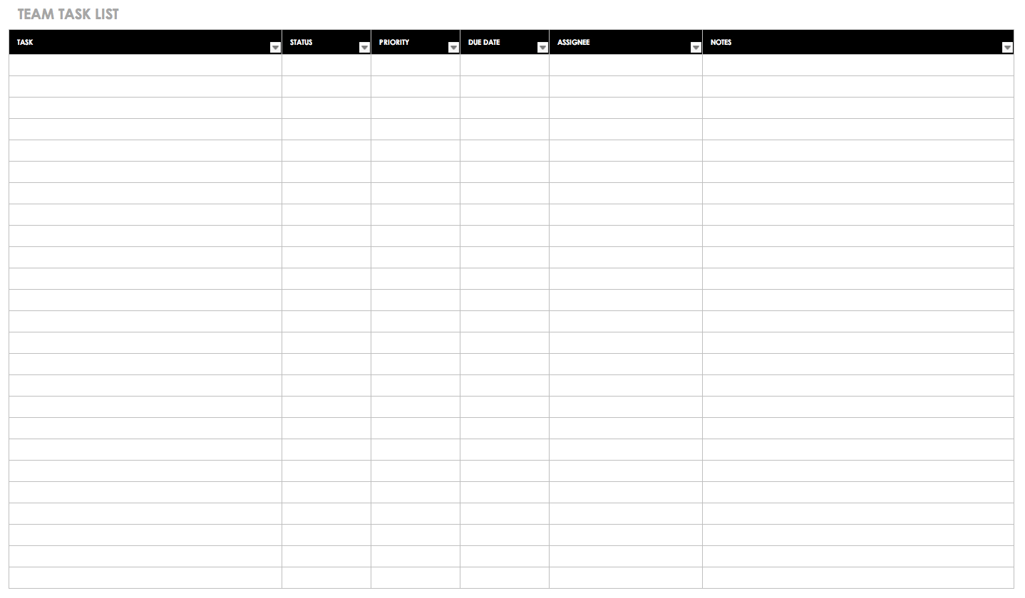 Gantt Chart Template Example Of Spreadshee Gantt Chart