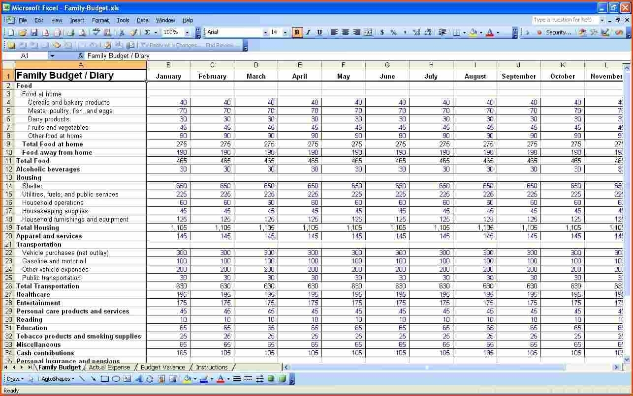 Profit And Loss Statement Template For Self Employed 1 P Amp L