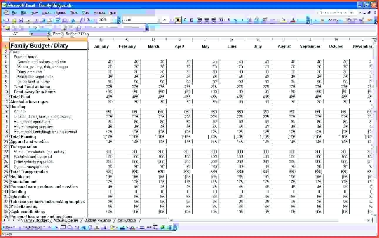Template Church Accounts Template Accounting Spreadsheet