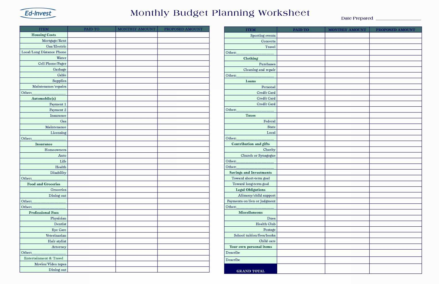 Excel Spreadsheet Template For Small Business For Small