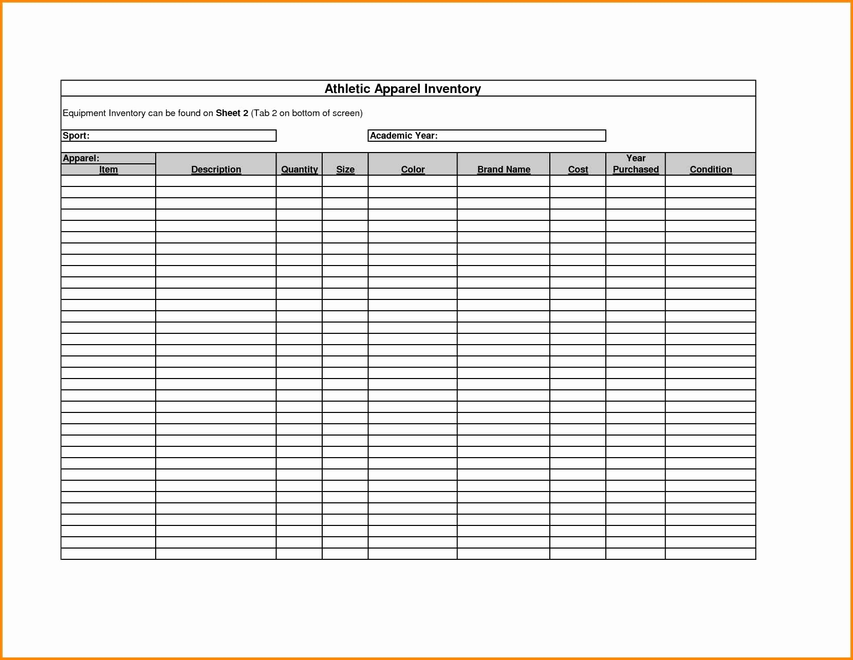 Jewelry Inventory Sheet Best Of Liquor Inventory Template