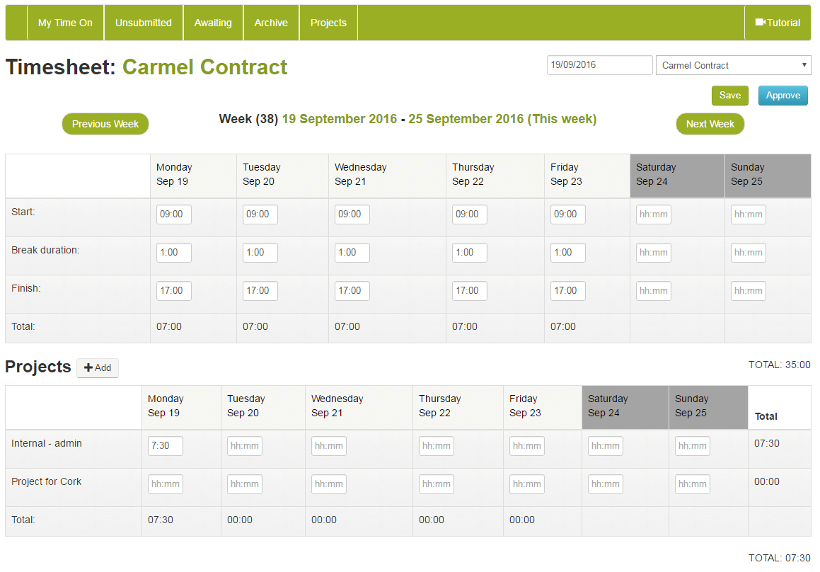 Online Timesheet Software Easily Track Calculate
