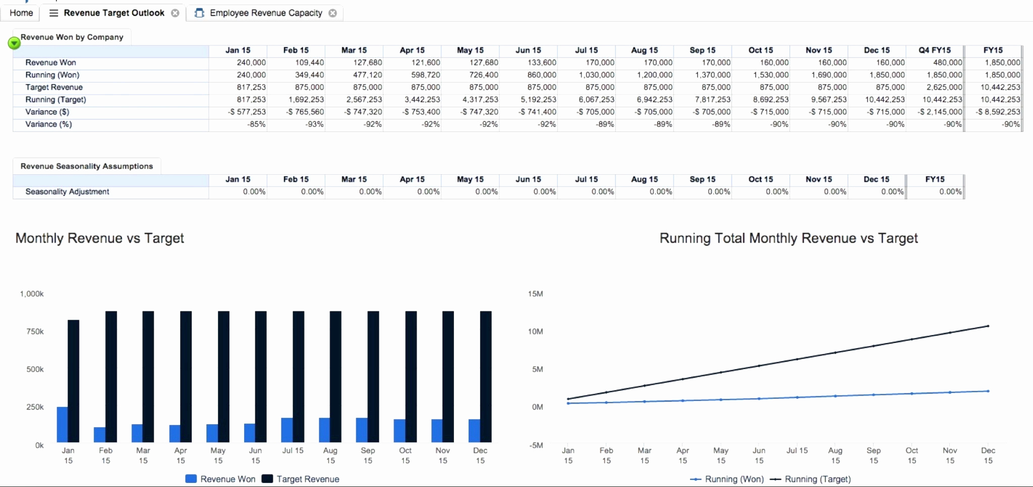 Financial Capacity Worksheet