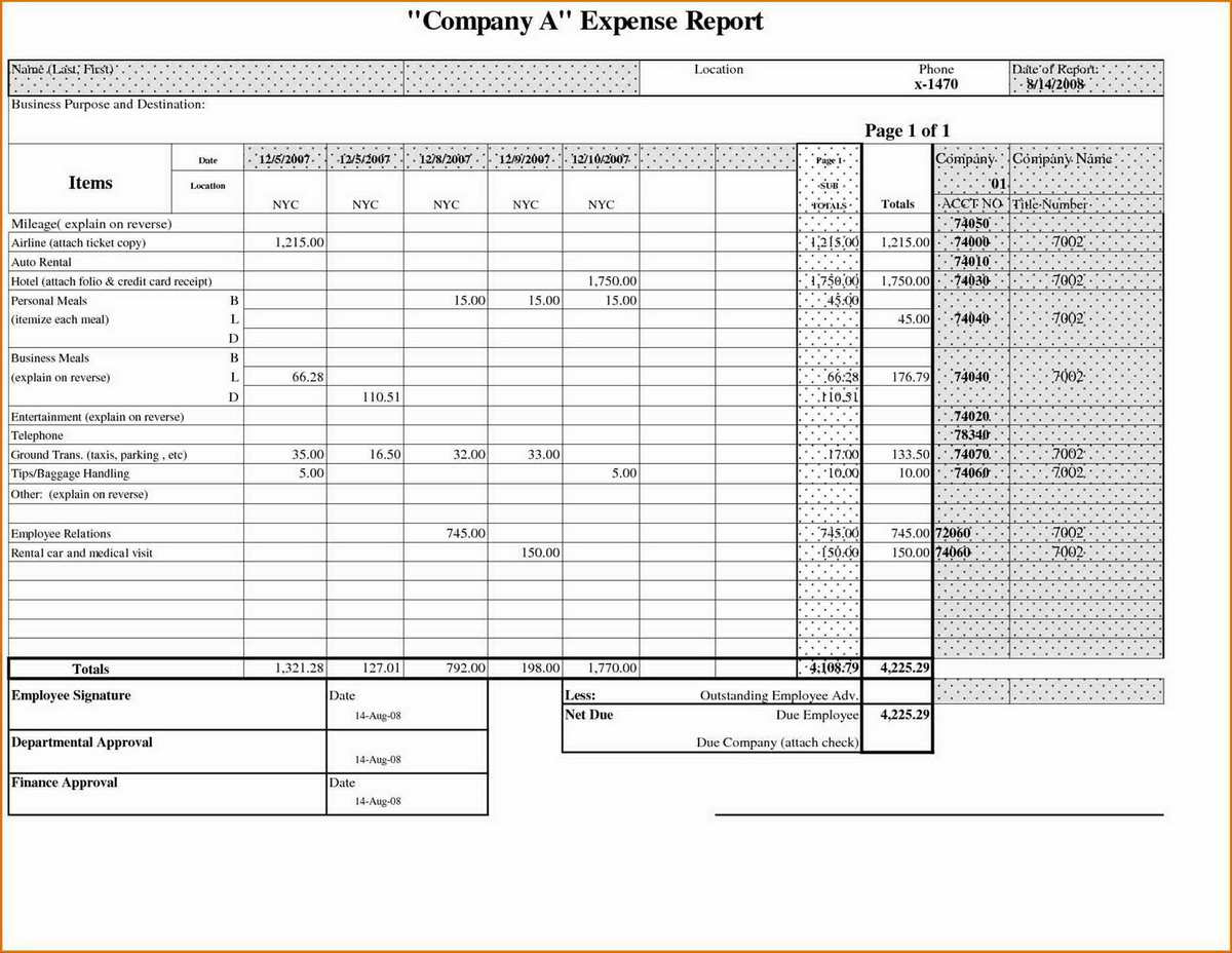 Tracking Business Expenses Spreadsheet With Tracker