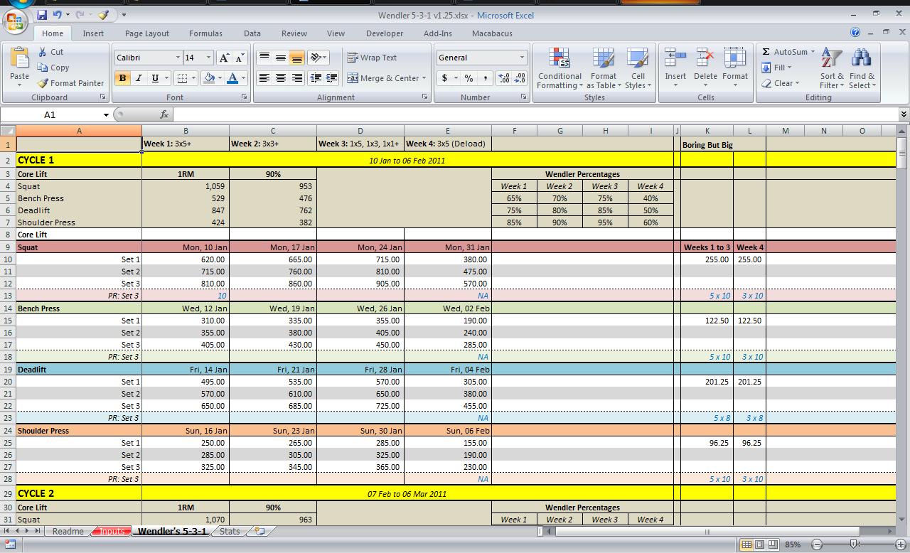 12 Week Year Spreadsheet Throughout 531 Spreadsheet