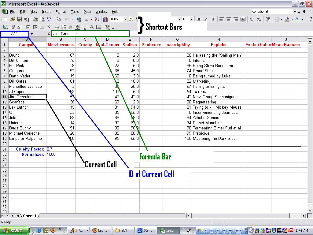 Address Label Spreadsheet Spreadshee Address Labels
