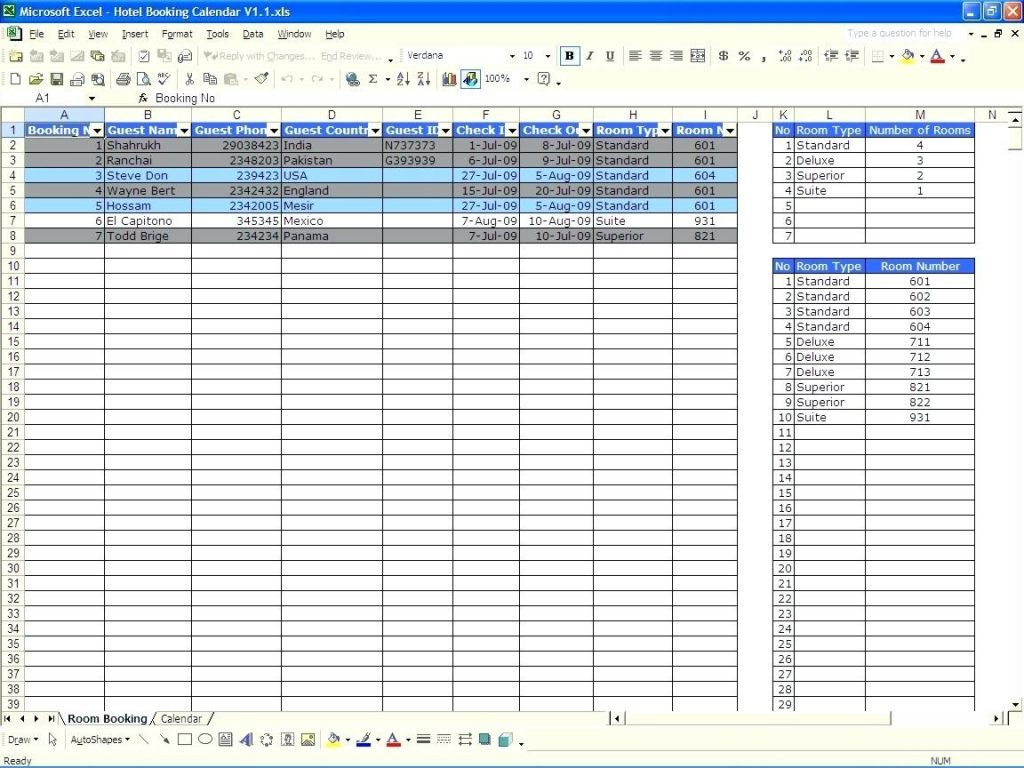 Availability Calculator Spreadsheetdb Excel Db Excel
