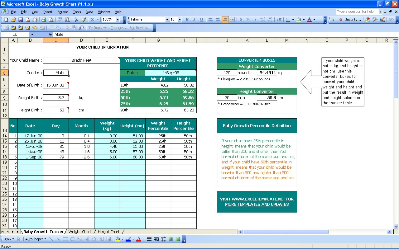 Baby Excel Spreadsheet Printable Spreadshee Baby Shower Excel Spreadsheet Baby Excel