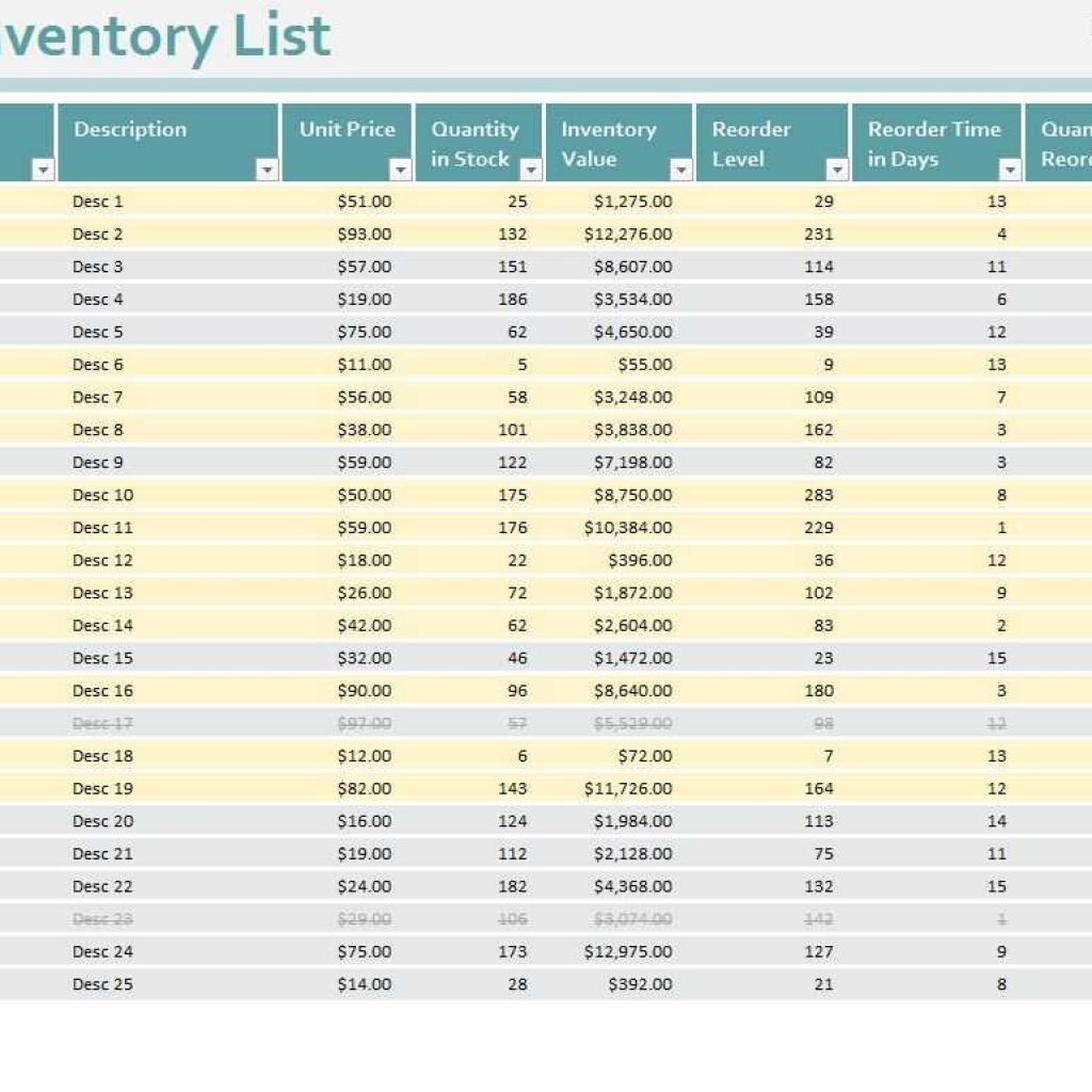 Bar Inventory Spreadsheet Template Pertaining To Bar I