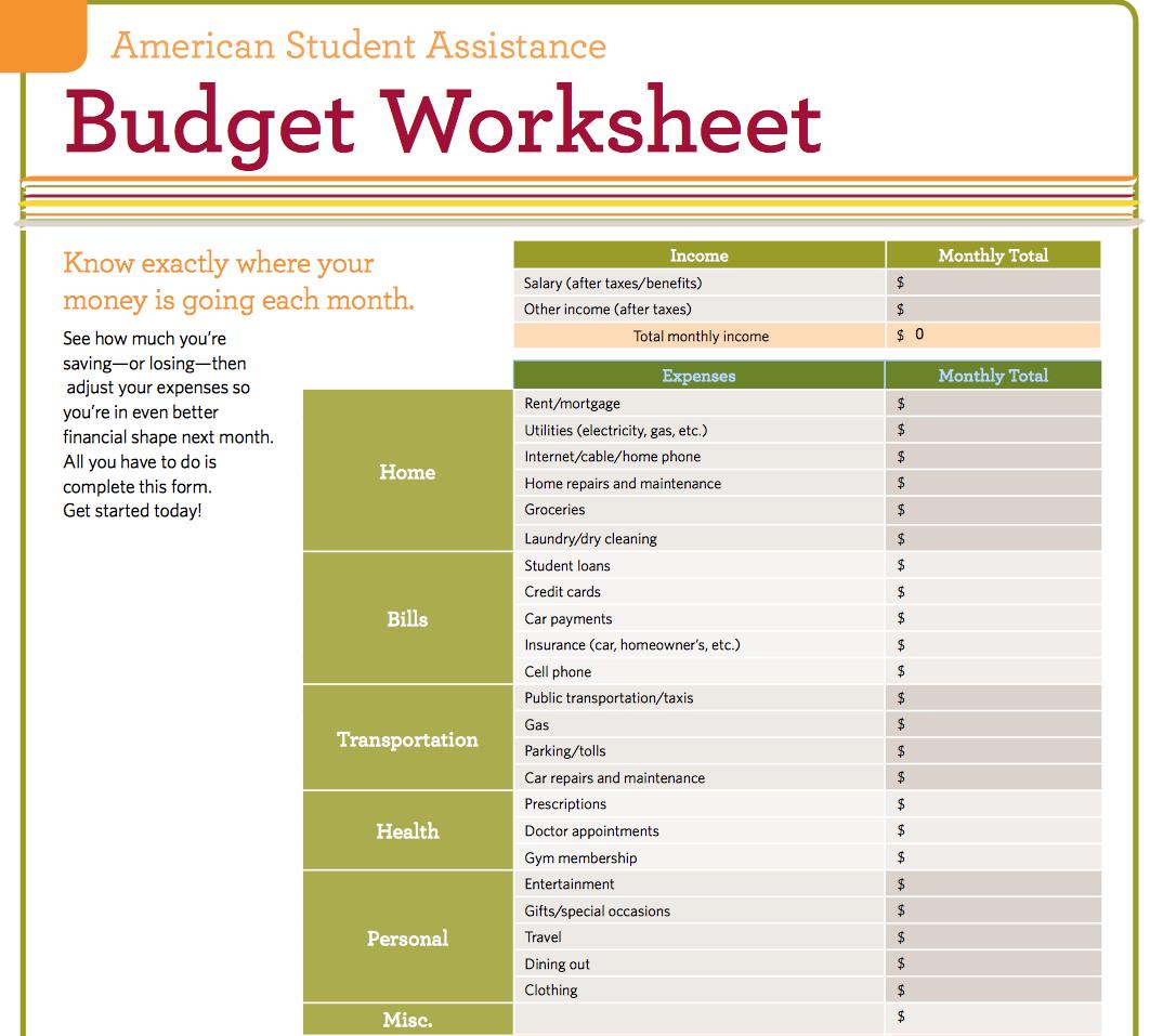 Basic Budget Spreadsheet Template Inside 9 Useful Budget