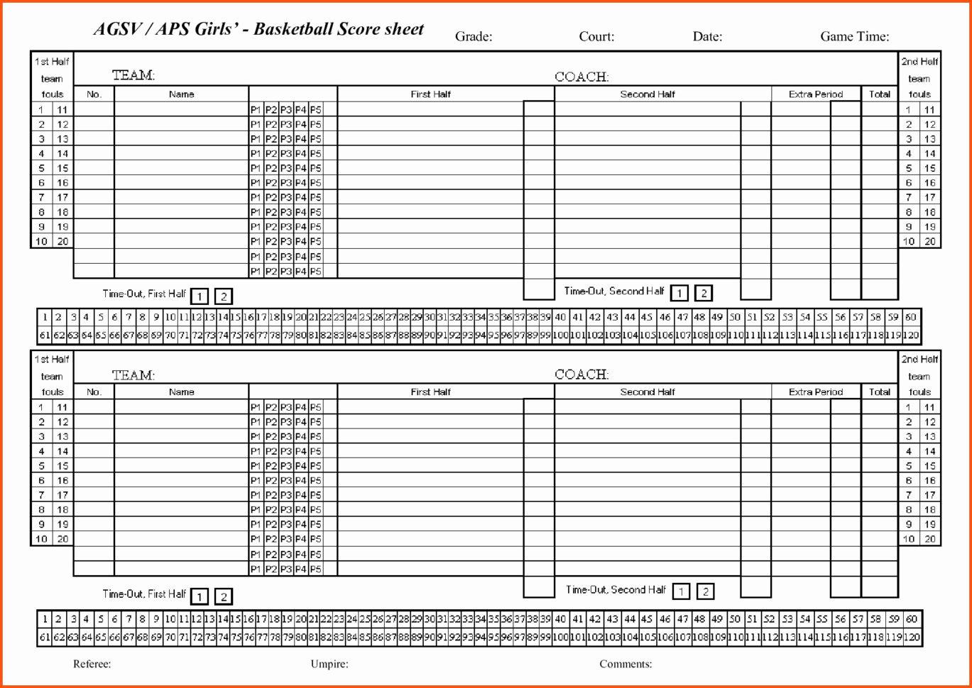 Basketball Stats Spreadsheet Spreadshee Basketball