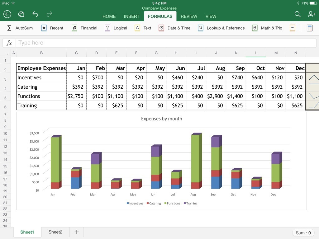 Best Spreadsheet App For Excel For Ipad The Macworld