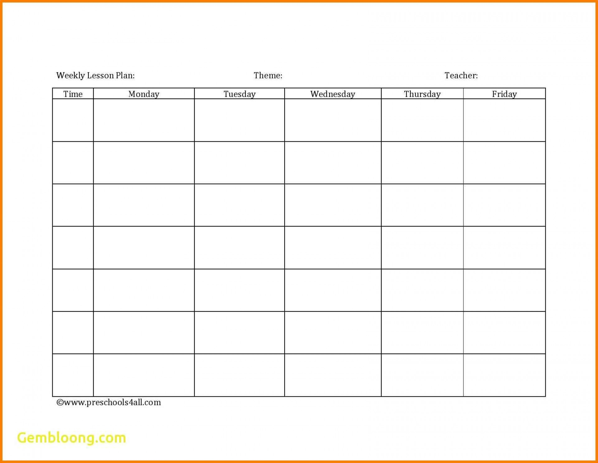 Blank Spreadsheet For Teachers Within 009 Blank Lesson