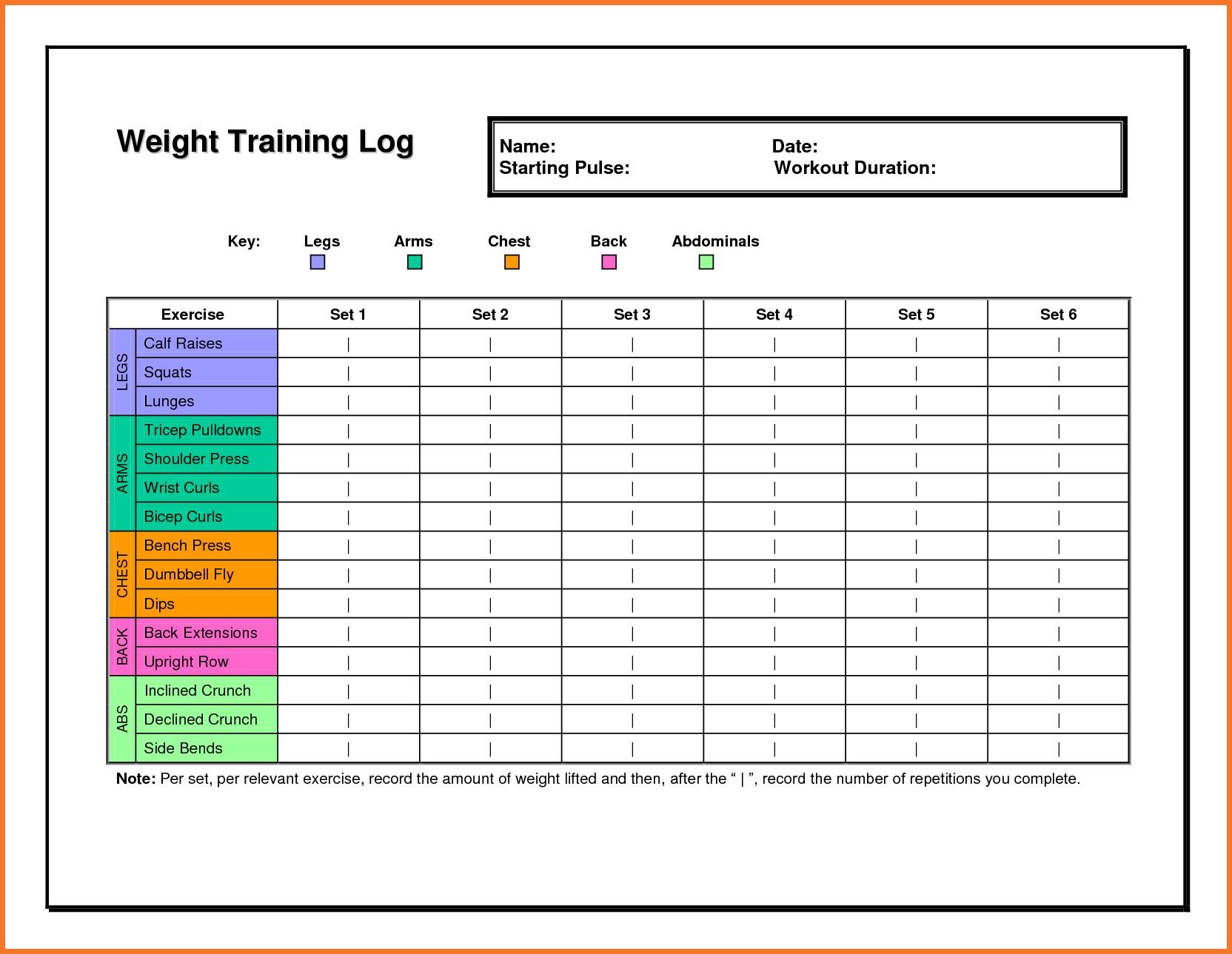 Bodybuilding Excel Spreadsheet In Madcow Spreadsheet Excel