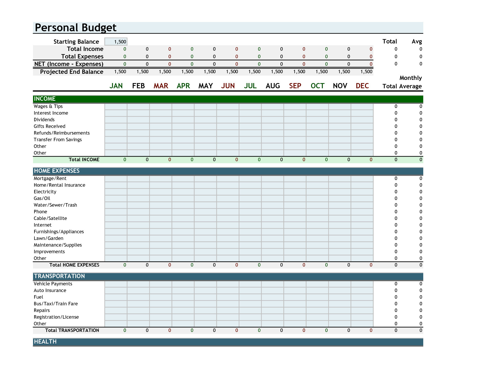 Budget Spreadsheet Layout Spreadsheet Downloa Budget