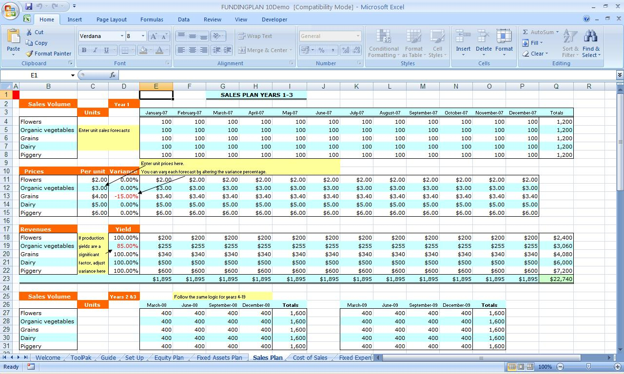 Business Card Template Spreadsheet Excel Spreadshee
