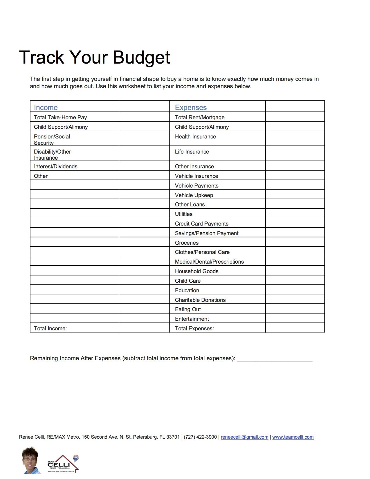 Buying A House Spreadsheet Pertaining To Buying House