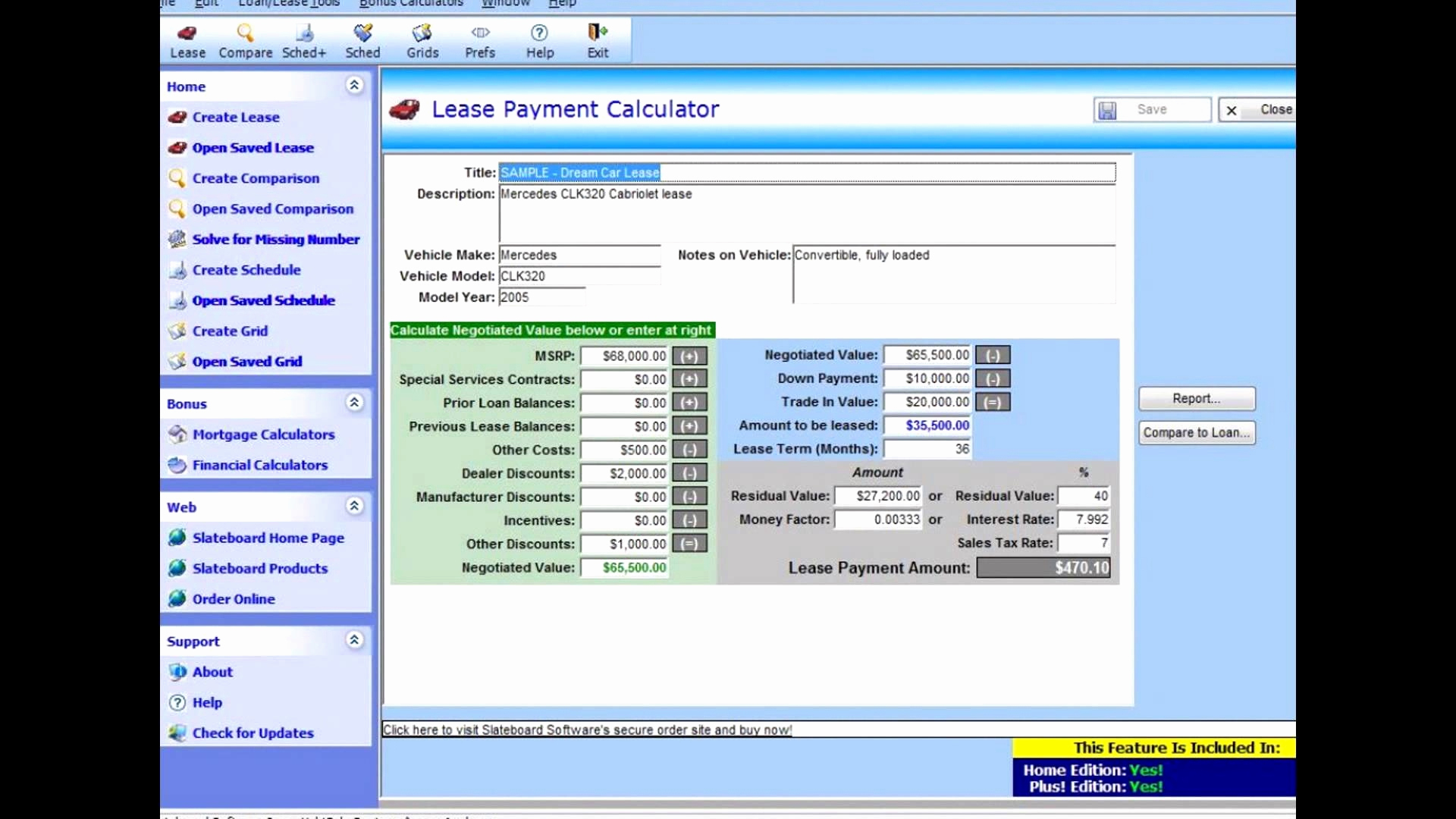 Car Lease Comparison Spreadsheet Pertaining To Car Lease
