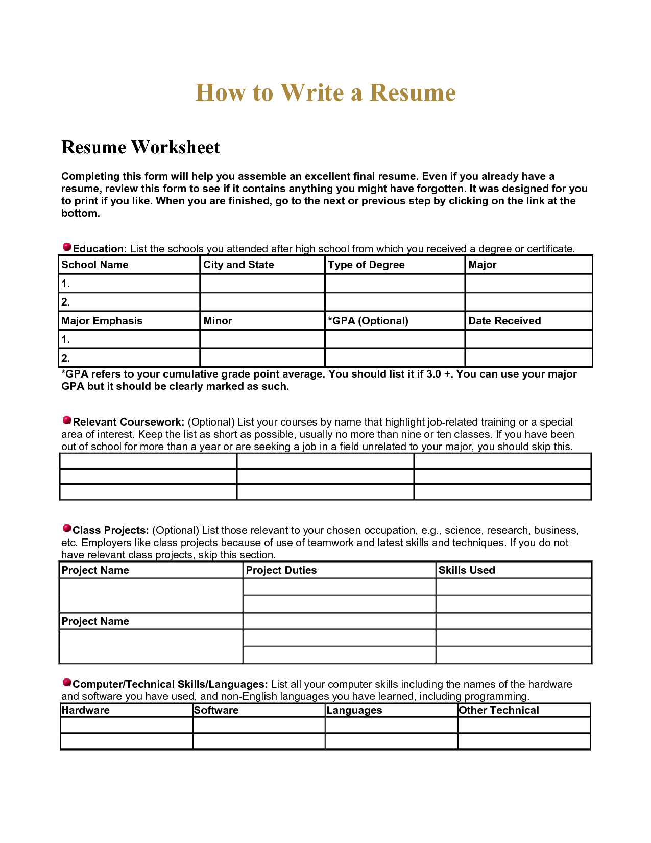 Computer Worksheet For Class 1 | Printable Worksheets and Activities