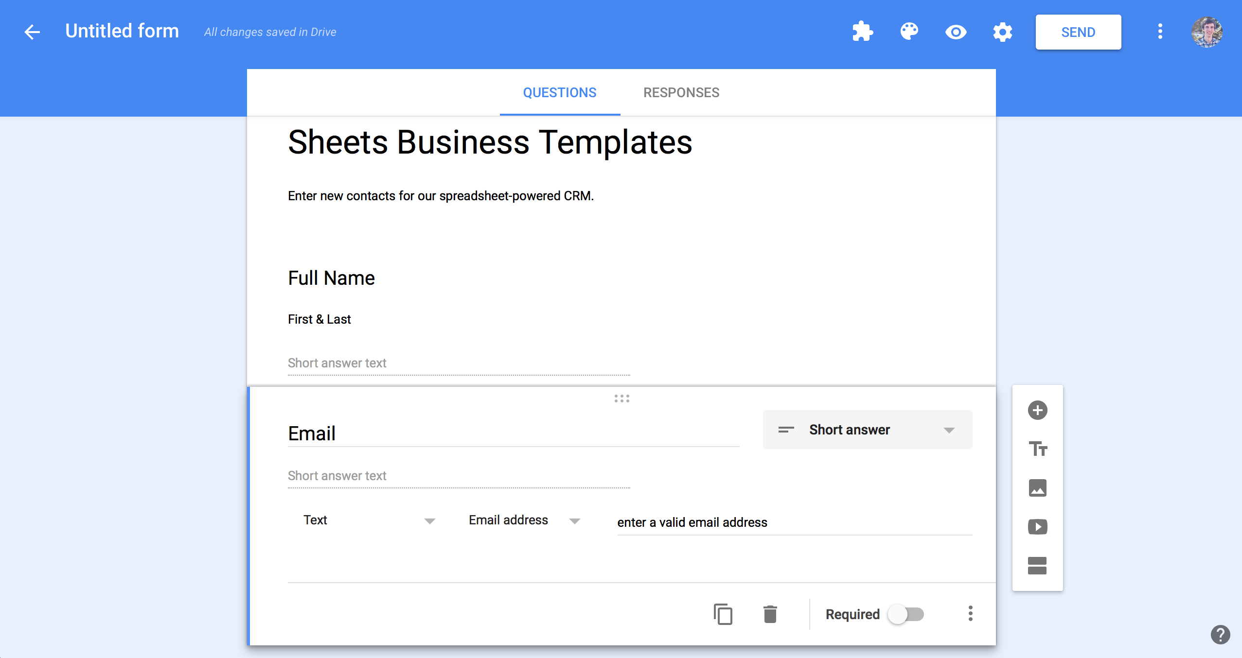 Contact Spreadsheet With Spreadsheet Crm How To Create A