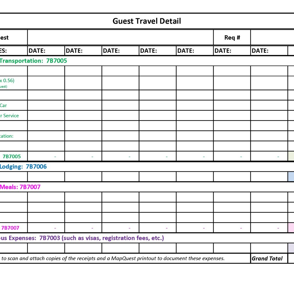 Contractor Expenses Spreadsheet Template Pertaining To
