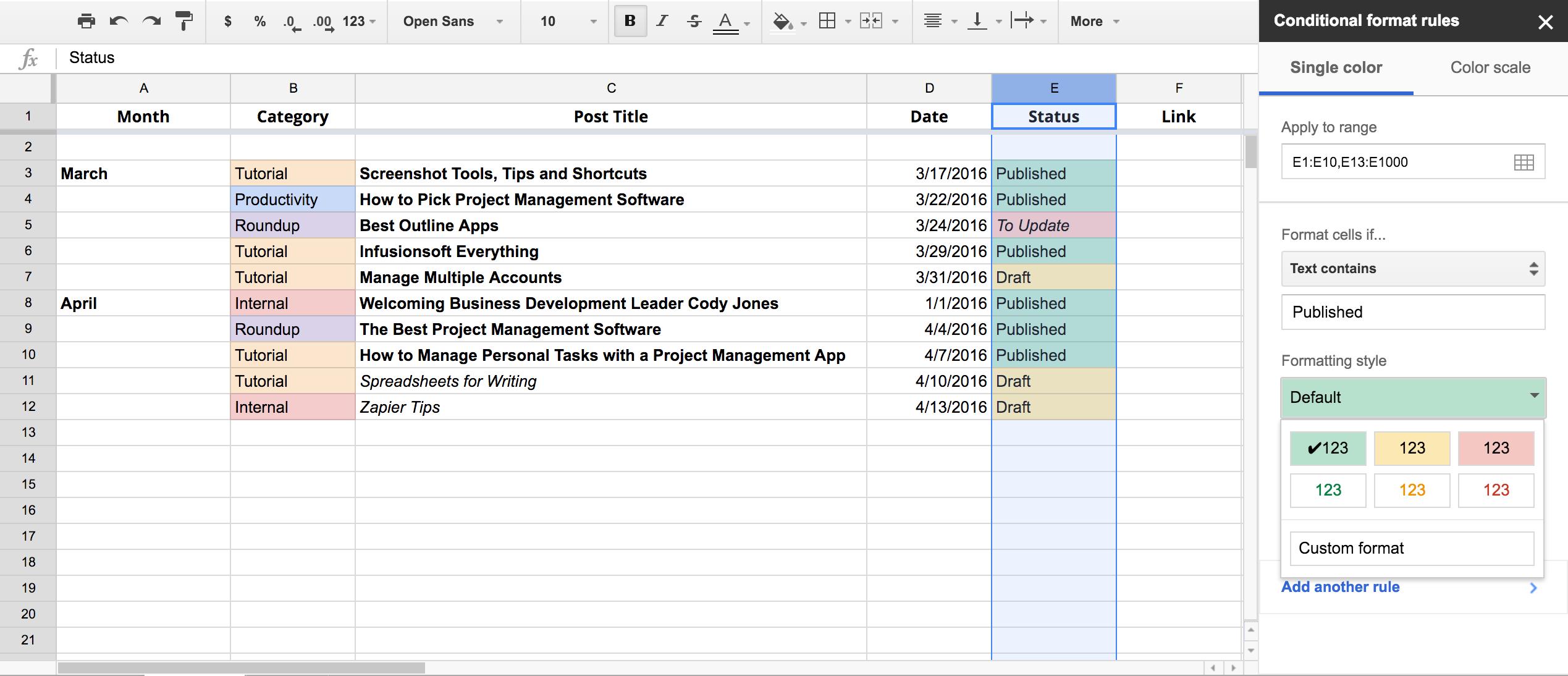 Convert Spreadsheet To Html Intended For Write