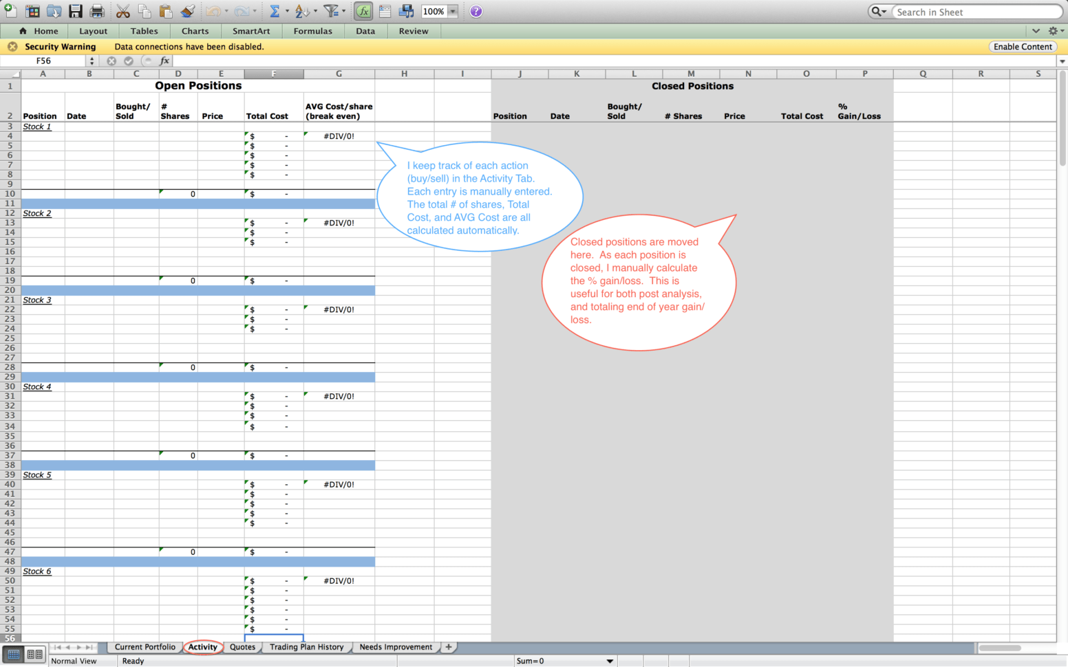 Create Index Worksheet In Excel