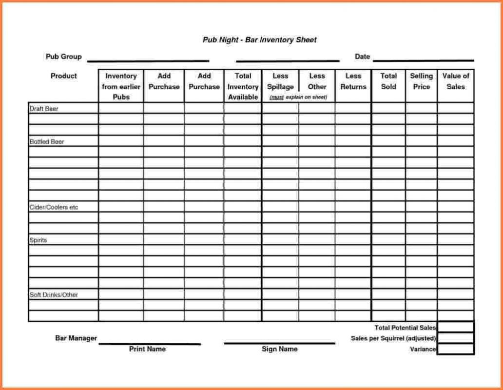 Dental Inventory Spreadsheet