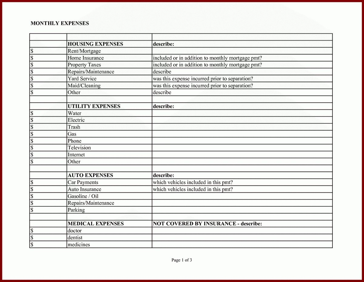 Dental Office Expense Spreadsheet Spreadshee Dental