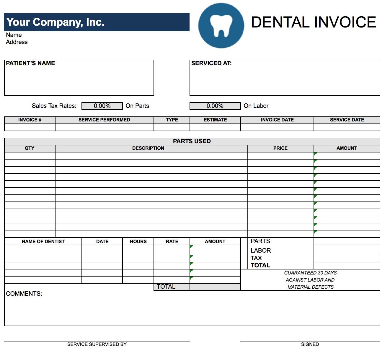 Dental Office Expense Spreadsheet Intended For Dental