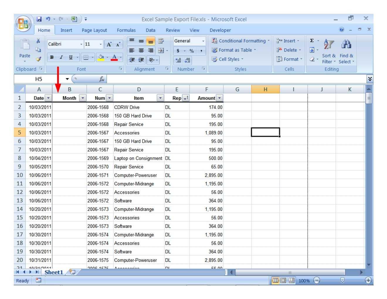 T Spreadsheet Template Intended For Sample Spreadsheet