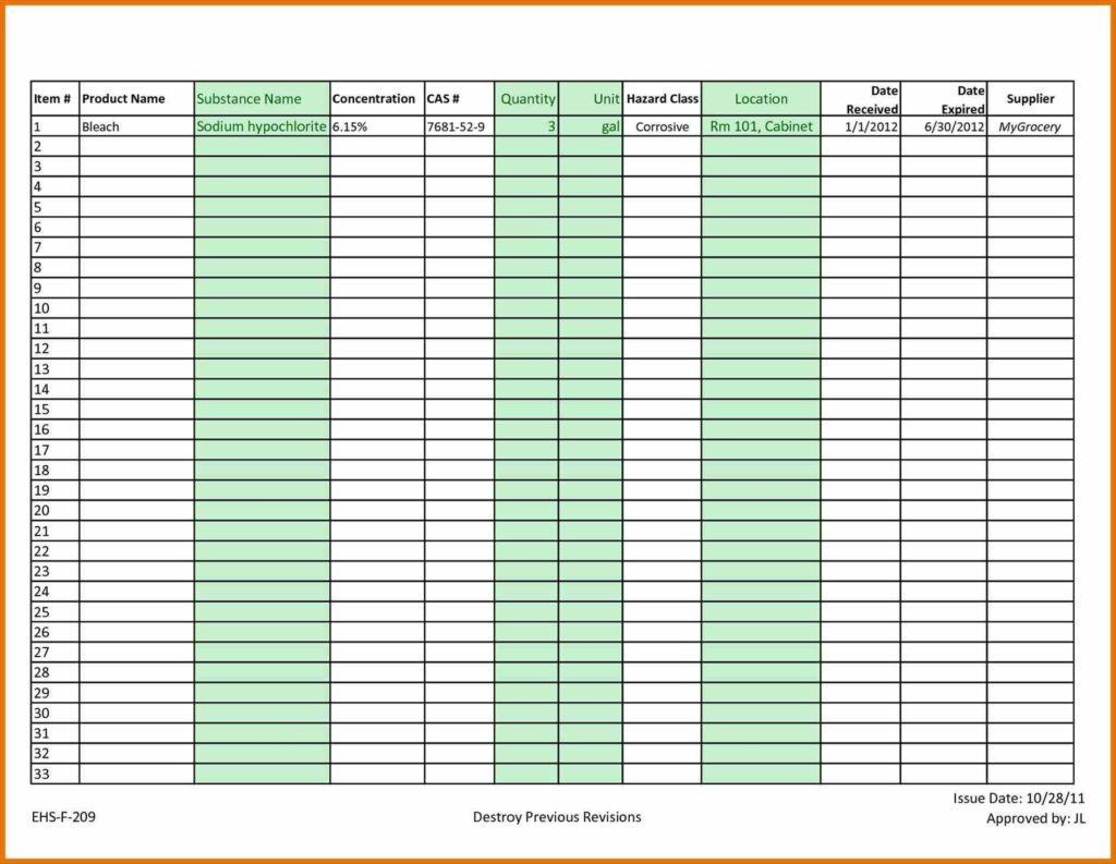 Easy Inventory Spreadsheet Spreadshee Easy
