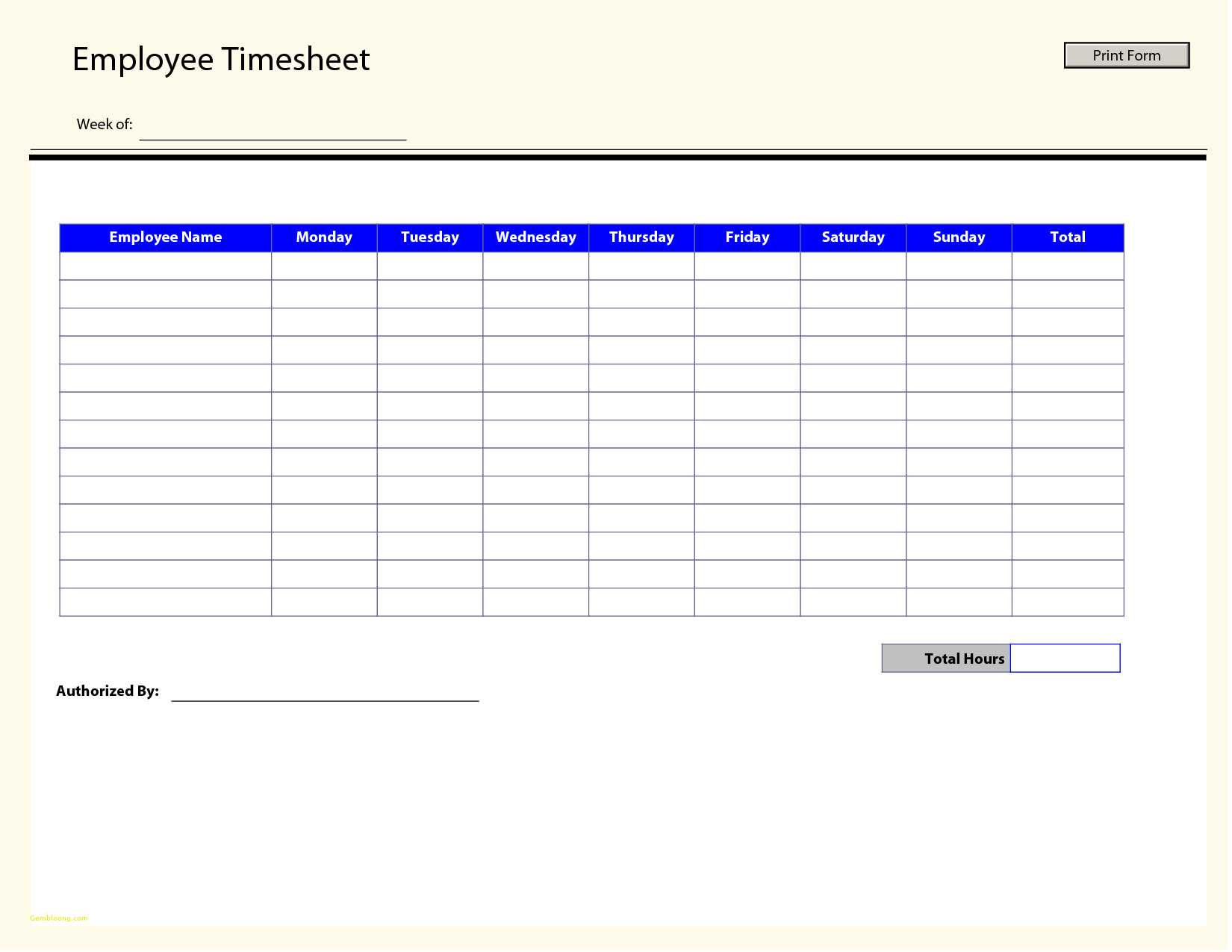 Employee Overtime Tracking Spreadsheet Spreadsheet Downloa