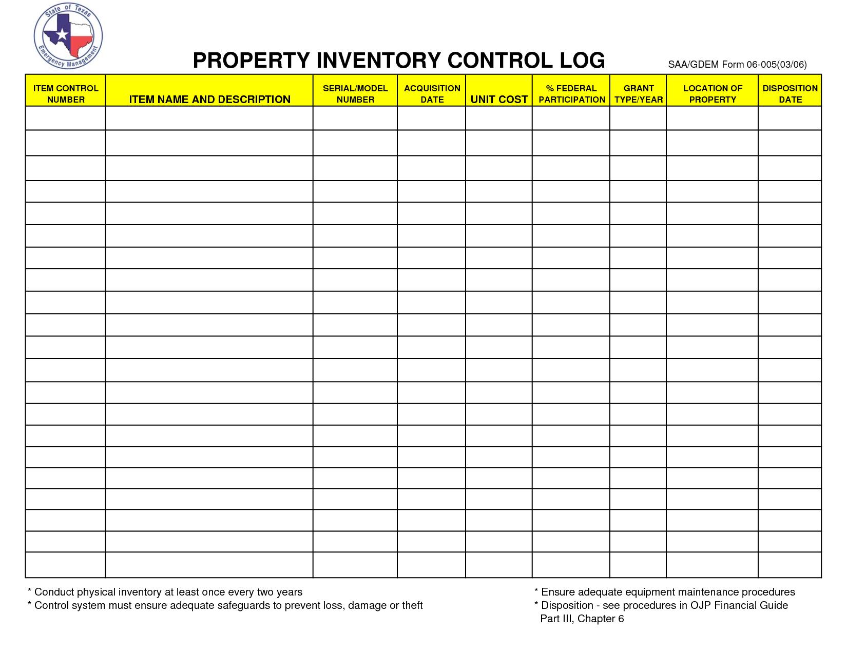 Estate Inventory Excel Spreadsheet For Excel Spreadsheet