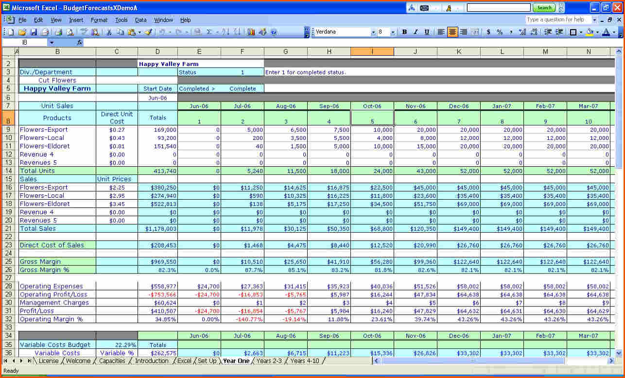 Excel Money Spreadsheet With Free Excel Consolidated