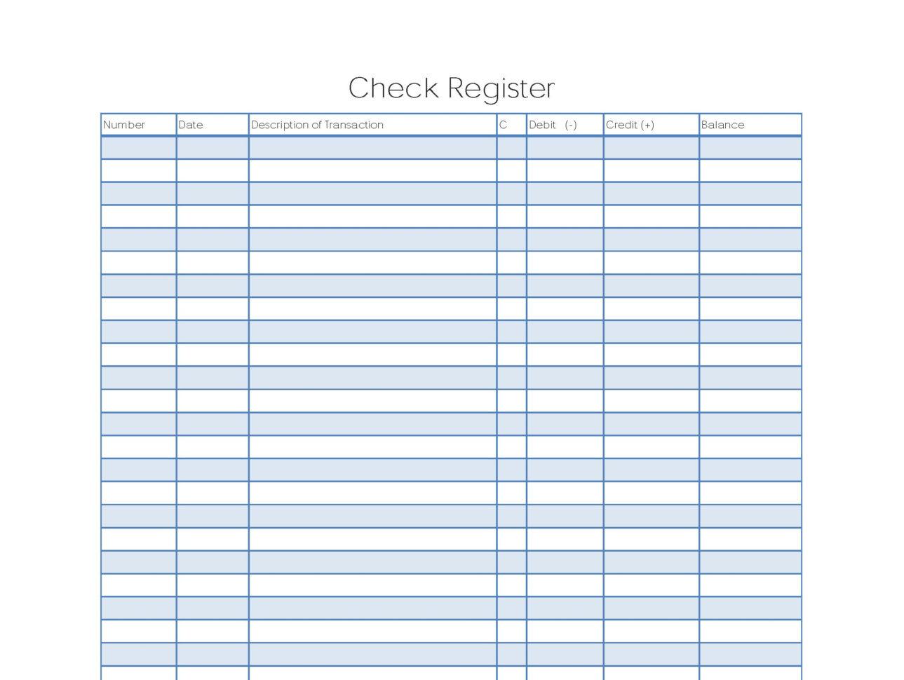 Excel Spreadsheet Check Register Spreadshee Excel