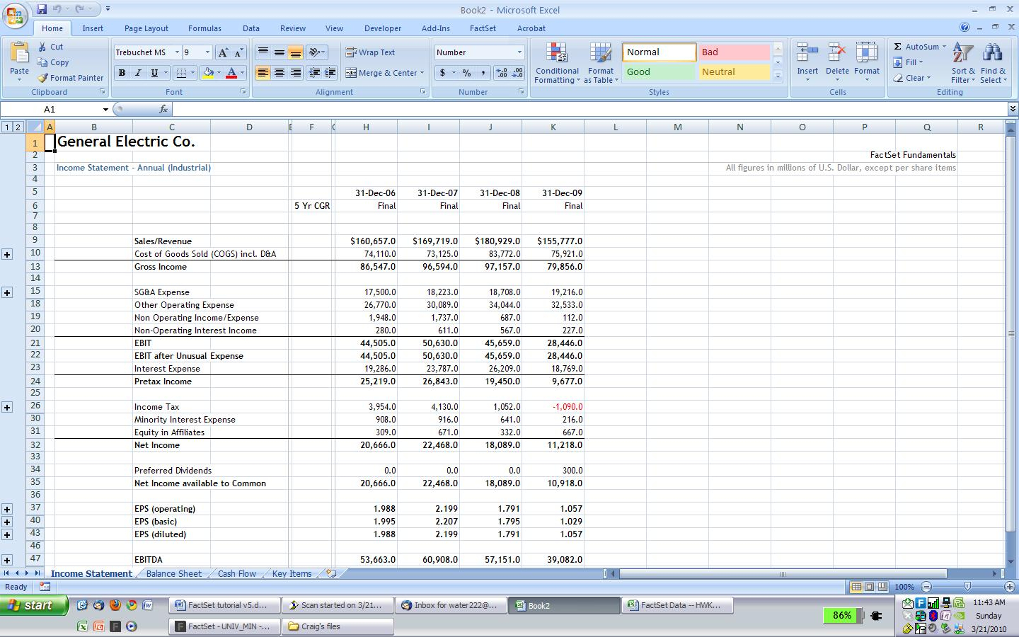 Excel Spreadsheet Financial Statement Db Excel