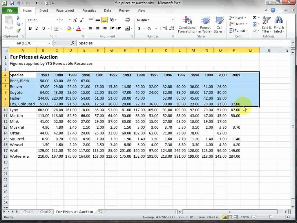 Excel Spreadsheet Test For Interview Spreadshee