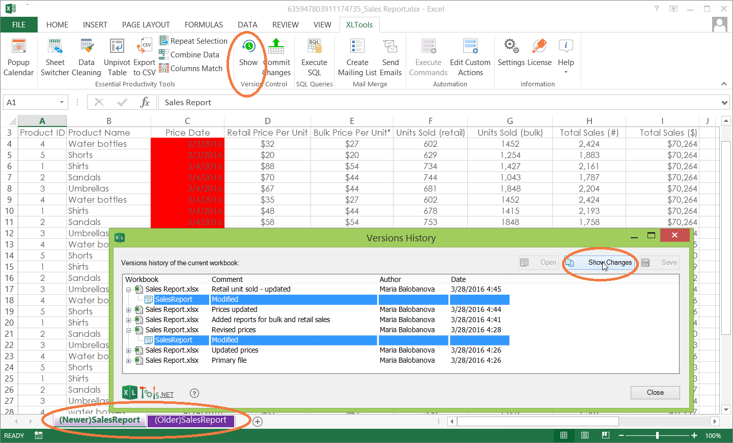 Excel Userform Spreadsheet Control For Version Control For